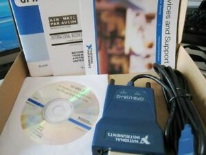 New National Instrumens Ni Gpib usb hs Interface Adapter Ieee 488 New In Box