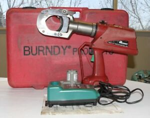 Burndy Patcut245cual Hydraulic Cable Wire Cutter Cutting Tool 28564 1