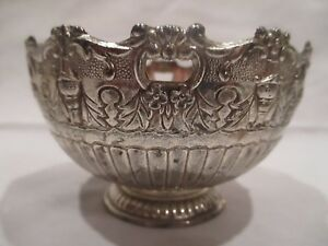Fb Rogers Silverplate Candy Dish Ornate Bowl 4 Diam 2 1 2 Tall