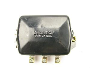 New Out Of Box Vintage Delco Remy 838 Voltage Regulator 1959 1962 Gm Pontiac