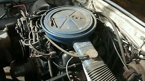 78 Mustang Ii 2 8 V 6 Engine Motor Assembly With Auto Transmission Used