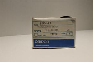 Omron E3r 5e4 Photoelectric Switch New In Box