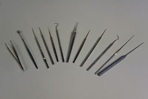 Storz Surgical Instruments Misc Set Includes Tweezers And Hook
