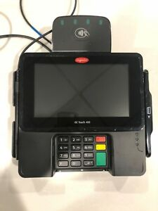 Ingenico Isc 480 Touch Screen Point Of Sale Credit Card Terminal
