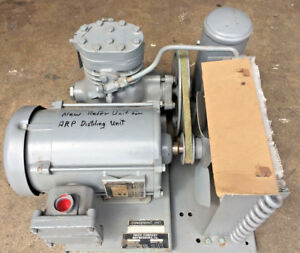 Frick Co Refrigeration condensing Unit With A Explosion Proof Motor