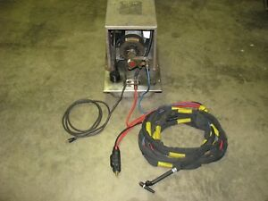 Bernard 3500 ss Welding Tig Cooler 3 Gallon 115vac Used tested works