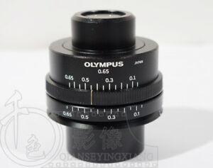1pc Used Good Olympus 0 65 Microscope Condenser
