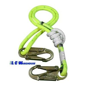 3 6 Ft Double Braid Composite Adjustable Rope Lanyard All Gear Arborist