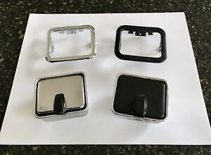 Nos 1969 1970 Shelby Gt Mustang Center Console Ashtray trim Bezel Oem Unpainted