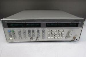 Agilent 83752a Synthesized Sweeper Signal Generator 0 01 20ghz No Opt