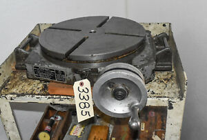 Bridgeport 15 Rotary Table ctam 3385
