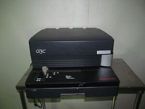 Gbc Magnapunch 7703201 Binding Punch For Parts Only