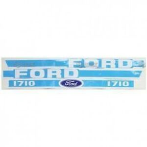 New Ford 1710 Hood Decal Set