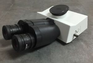Olympus Microscope Super Wide Trinocular Head For Bx Series