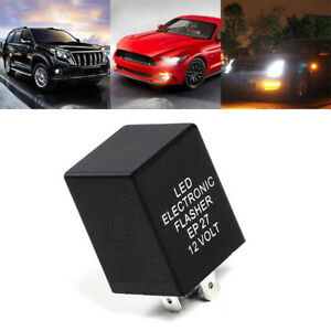 12v 10a 5pin Ep27 Led Flasher Relay For Car Turn Signal Indicator Blinker Flash