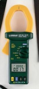 Clamp Meter trms 2000a Pwr Ft Calib Cmp 200 c By Greenlee Vwu