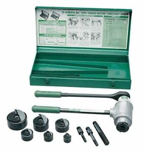 Driver Set ratchet Slug Buster 1906sb By Greenlee Vwu
