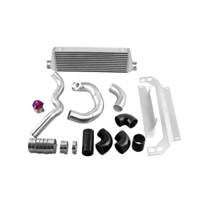 Cxracing Intercooler Piping Bracket Kit For 99 05 Mazda Miata 1 8l Turbo Black