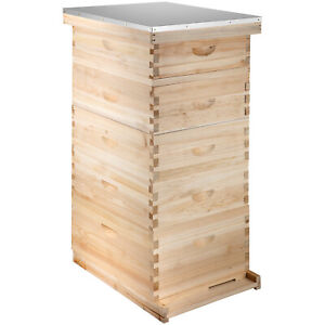 5 Board Box10 frame Beehive Frames bee Hive Frame For Beekeeping W Metal Roof