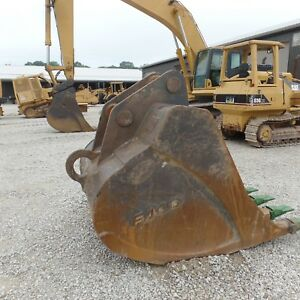 Komatsu Pc400 Lc 3 4 5 6 7 Excavator Bucket 60 Excellent New Teeth