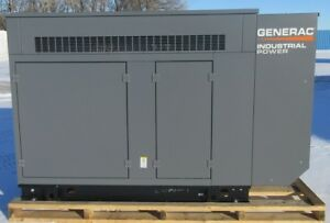 New Surplus 50 Kw Generac Ford Natural Gas Or Propane Generator Mfg 2015
