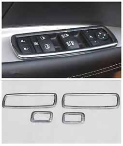 18 Interior Accessories Whole Kit Cover Trims For Jeep Grand Cherokee 11 2015
