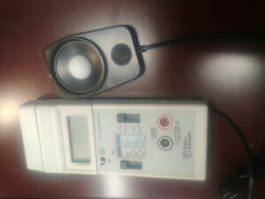 Fisher Scientific Fb61163 Traceable Calibration Light Meter Lux Meter