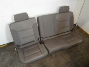 2014 Sierra Rear Bench Seat Tan Cloth 934387