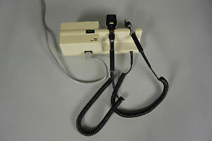 Welch Allyn 767 Wall Transformer With 11600 Opthalmoscope Head