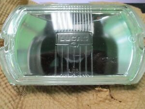 Lucas Lr 8 Driving Lamp Glass Lens Nos Lucas Square 8 Light Unit Nos
