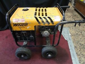 Winco Portable Generator 5 000 Watt 120 240v Honda 9 0 Hp