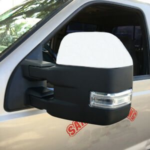 For 99 07 Ford F250 f550 Super Duty Base Color Tow Mirrors W power Heated Signal