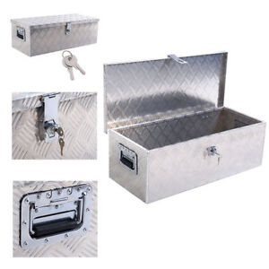 30 Aluminum Truck Pickup Atv Camper Tool Box Trailer Flatbed Rv Storage W Lock