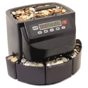 Commercial Money Coin Counter Sorter Machine Change Wrapper Electronic Digital
