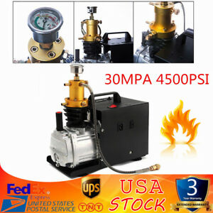 30mpa 4500psi Air Compressor Pump High Pressure Pcp Electric Pressure Setting