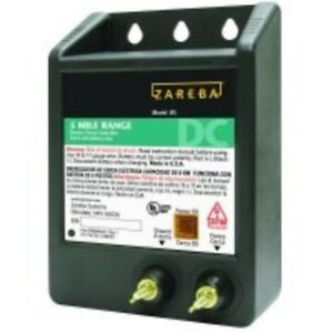 Zareba 5 mile Battery Operated Solid State Fence Charger Heavy Duty New