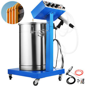 Powder Coating System With Spraying Gun Wx 958 Electrostatic Machine Good Item