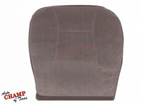 1994 1996 Ford Bronco Xlt Driver Side Bottom Replacement Cloth Seat Cover Tan