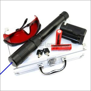 2 Watt Bx1 ii Adjustable Focus 450nm Burning Handheld Blue Laser Pointer Lazer