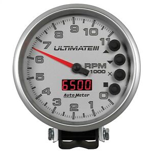 Autometer 6886 Ultimate Plus Playback Tachometer