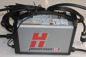 Pre Owned Hypertherm Powermax45 Plasma Cutter With 20ft Hand Torch Free Shipping