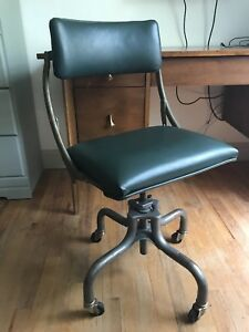 Vintage Do More Office Chair Mid Century Adjustable Industrial Domore Janice