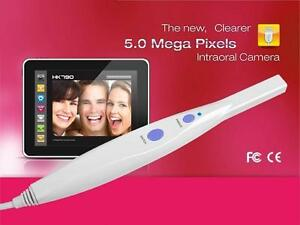 New 5 0 Mp 6 led Dental Intraoral Camera With Software Fast Shipping