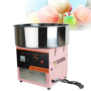 110v Electric Cotton Candy Machine Floss Maker Commercial Carnival Party From Us