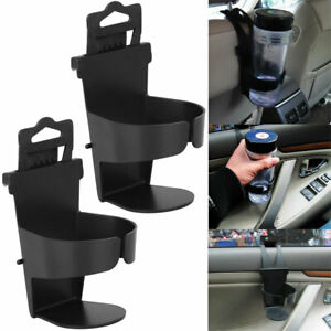 2 pack Universal Vehicle Car Truck Cup Holder Case Drink Bottle Door Mount Stand