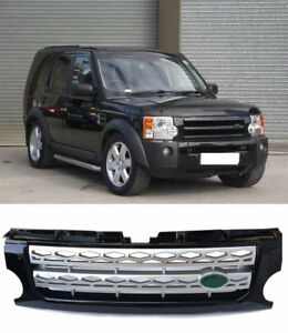 For Land Rover Lr3 Discovery 2005 09 Front Bumper Grill Grille Cover Trims