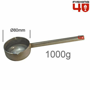 Lead Ladle Fishing Weight Making Stainless Steel 1000gr Fishing Lead Molds $29.50