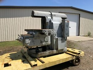 Cincinnati No 5 Horizontal Milling Machine