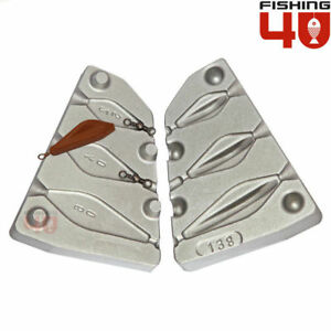 Tribolo lead fishing weight 25-40-60g fishing mould carp sea $43.00
