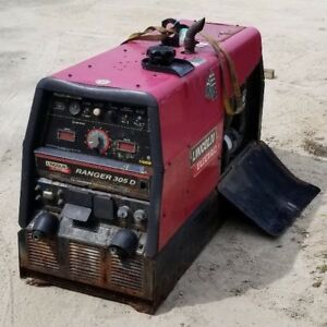 Lincoln Ranger 305d Diesel Engine Driven Welder Dc Multi process Tig Mig Arc